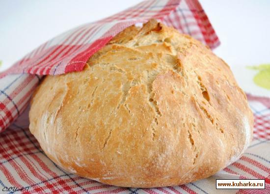 Рецепт Хлеб-каравай из кастрюли