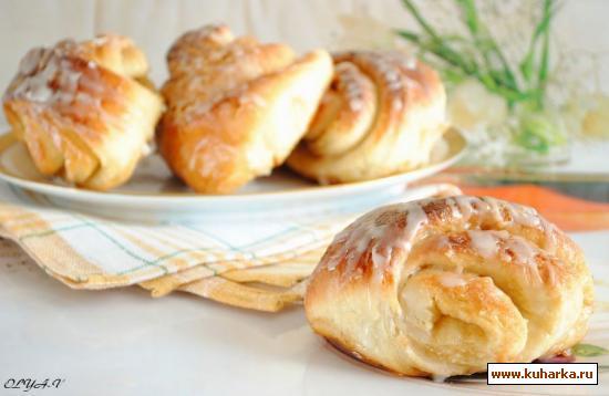 Рецепт Карамельные булочки