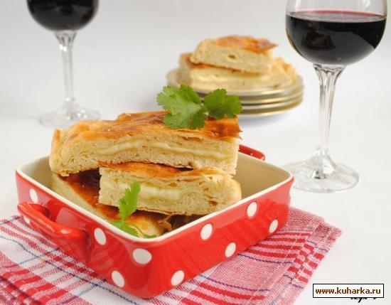 Рецепт Слоеные хачапури с сыром