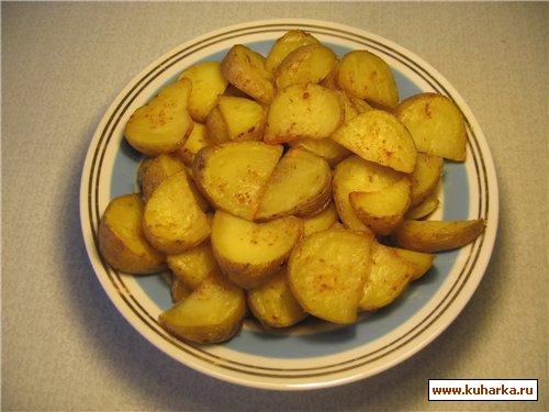 Рецепт Картофельные ломтики с паприкой