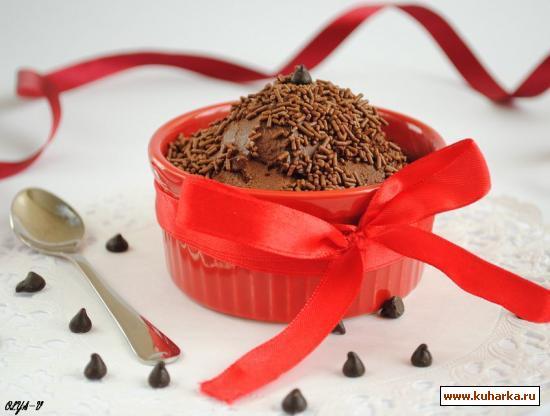 Рецепт Мусс из шоколада и воды