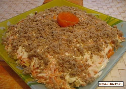 Рецепт салата визит с фото