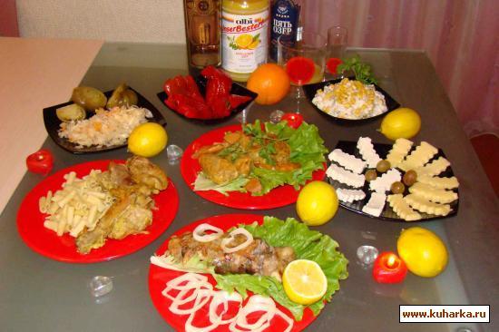 Рецепт Салат сборный