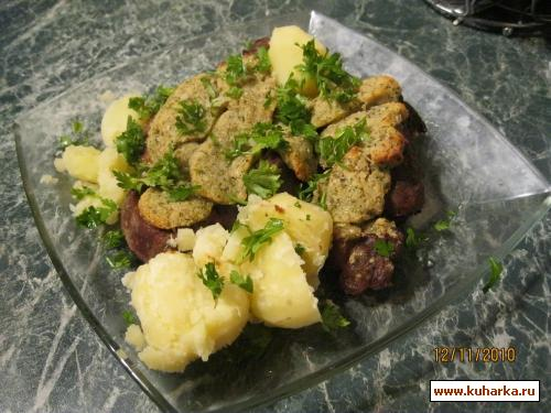 Рецепт Мясо под сырной корочкой