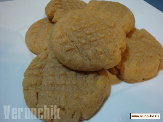 Рецепт Peanut Butter Cookies (Печенье с арахисовым маслом)