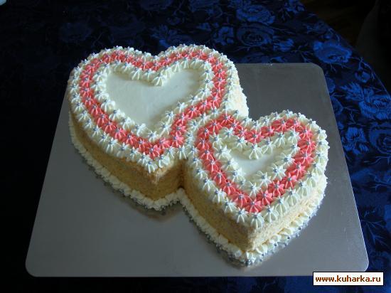 Рецепт Свадебный торт- Гармония-
