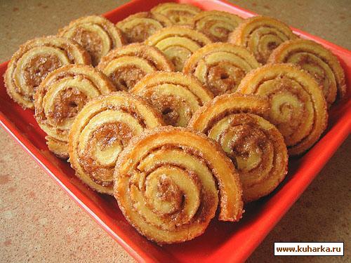 Печенье улитка с орехами пошаговый рецепт