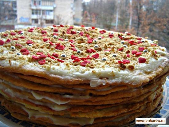 слоенные торты рецепты с фото