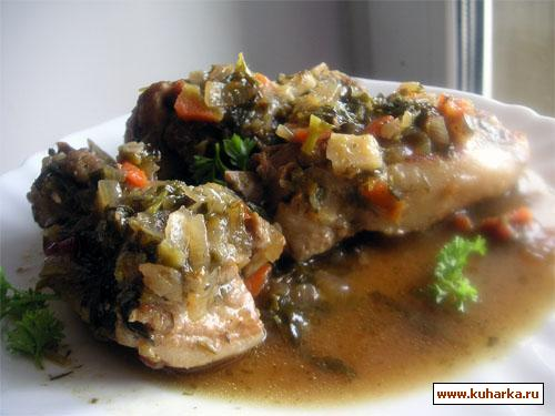 Рецепт Ребрышки из баранины в пряном соусе