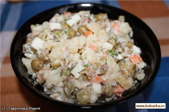 Рецепт Шпротный салат