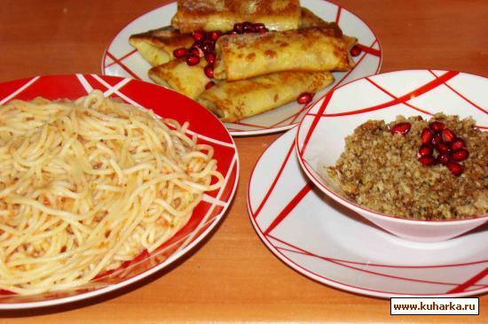 Рецепт Спагетти-почти по итальянски