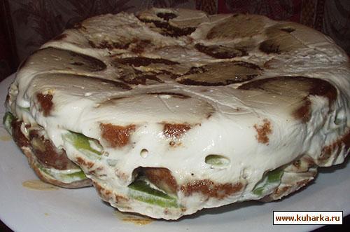 Холодный торт со сметаной рецепт