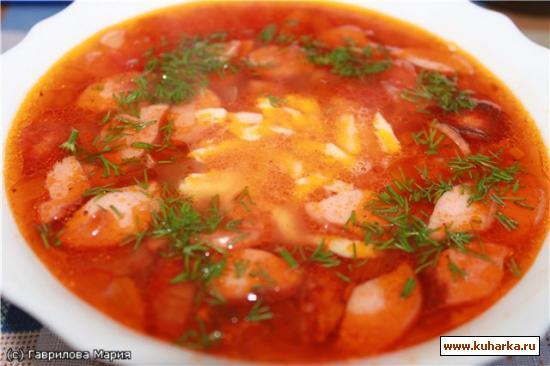Рецепт Итальянский томатный суп