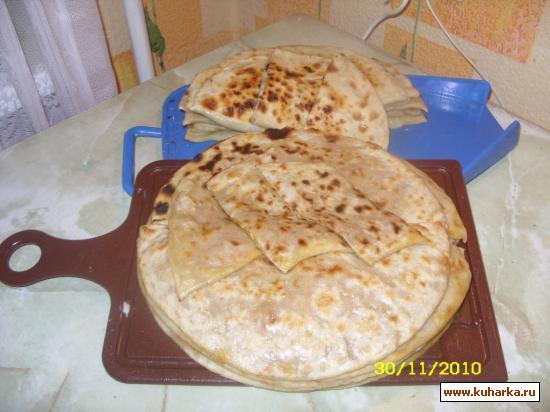Рецепт Чуду с тыквой и грецкими орехами