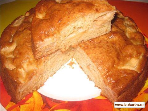 Рецепт Яблочно - медовый пирог