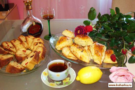 Рецепт Кята из творожного теста со сладкой мучной начинкой