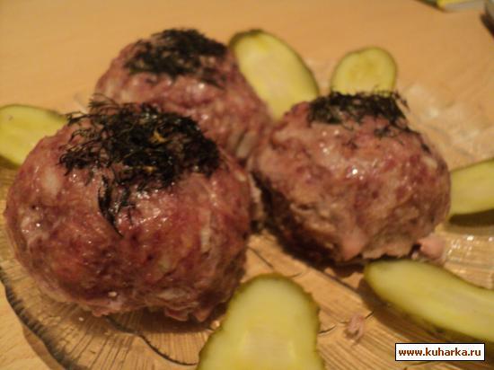Рецепт Фрикадельки сырно-картофельные