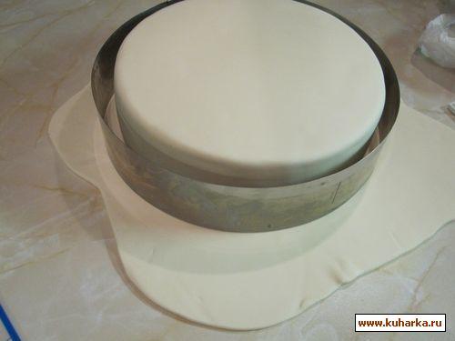 как сделать ровненький торт