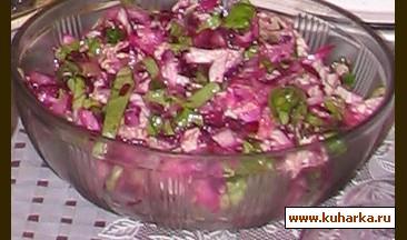 """Рецепт Салат """"Зимние овощи"""""""