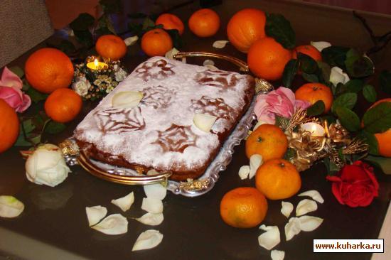 """Рецепт Пирог с джемом """"сладкая нежность"""""""
