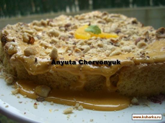 Рецепт Алгарвский торт (Bolo Algarvio)