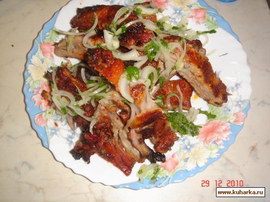 Рецепт Свиные рёбрышки