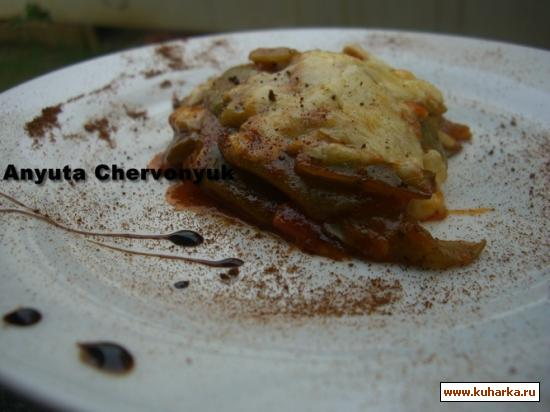Рецепт Запечённая зелёная фасоль (Alubia verde al horno)