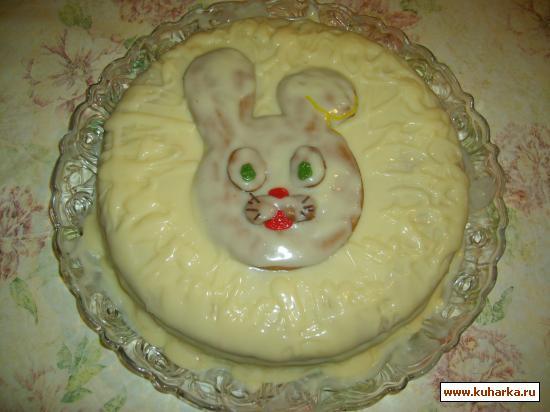 """Рецепт Торт """"Кролик"""""""