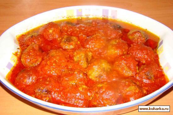Рецепт Тефтельки в томатном соусе