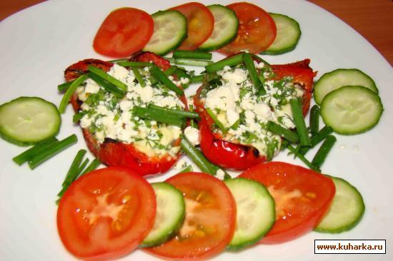 Рецепт Перец запеченый с сыром