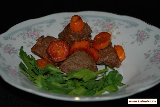 Рецепт Козлик с морковкой