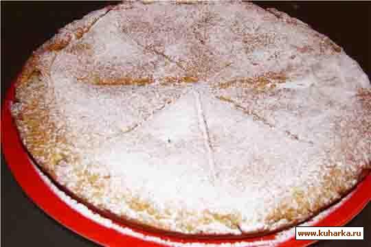 Рецепт Пирог с лимонной начинкой