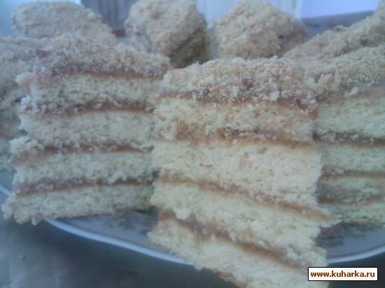 Рецепт Toрт медовый
