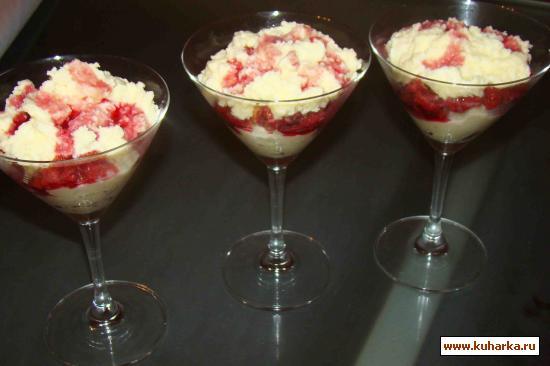 """Рецепт Десерт """"вишневый аромат"""""""