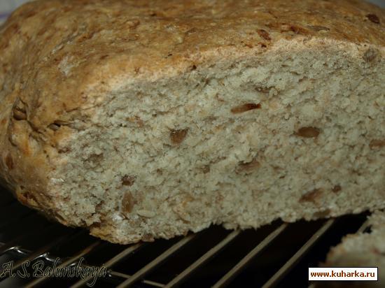 Рецепт Овсяный хлебушек