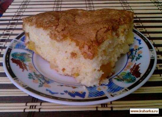 Рецепт Пирог с манго и ананасом