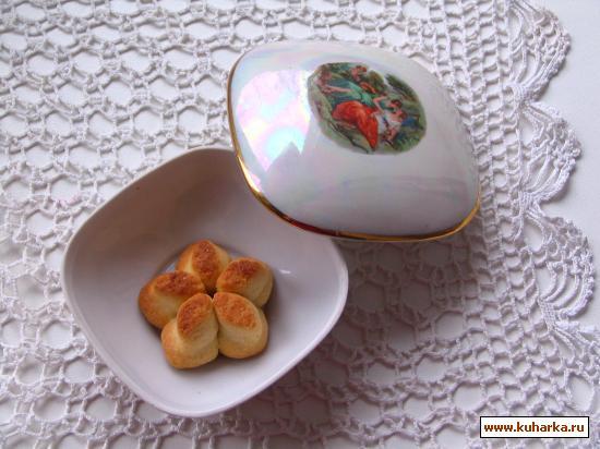 Рецепт Печенье курабье Сказка востока