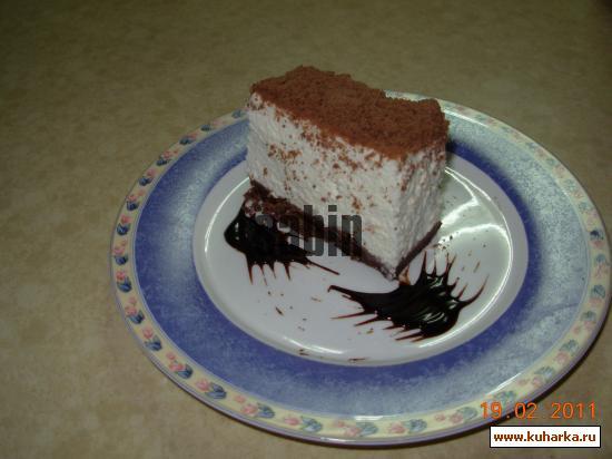 Рецепт Творожный торт-крошка без выпечки
