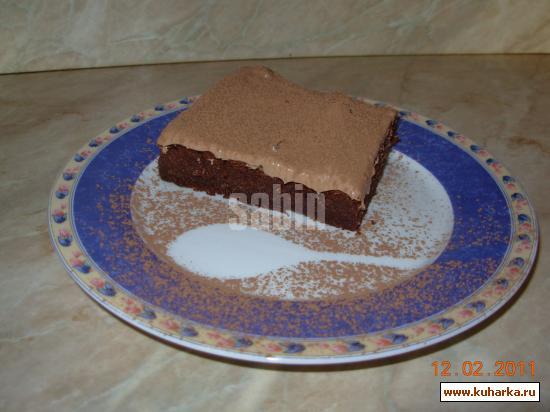 Рецепт Шоколадно-апельсиновый торт (без муки)