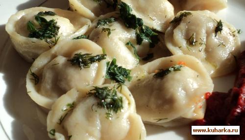 Рецепт Пельмени сибирские