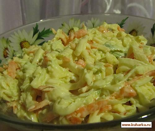 Рецепт Салат с редькой и сыром