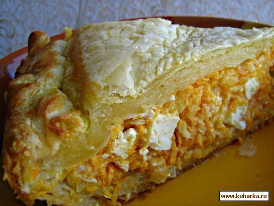 Рецепт Пирог с тыквой по-гречески