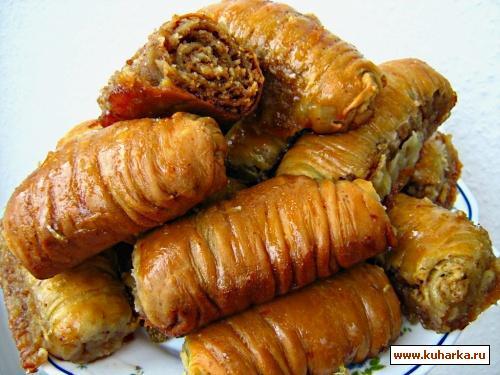Рецепт Турецкая пахлава