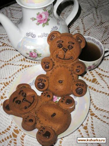 Рецепт Мишки Барни и шоколадные маффины
