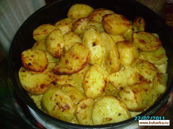 Рецепт Картофель запечёный в АГ