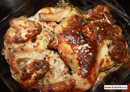 Рецепт Цыплята с маскарпоне