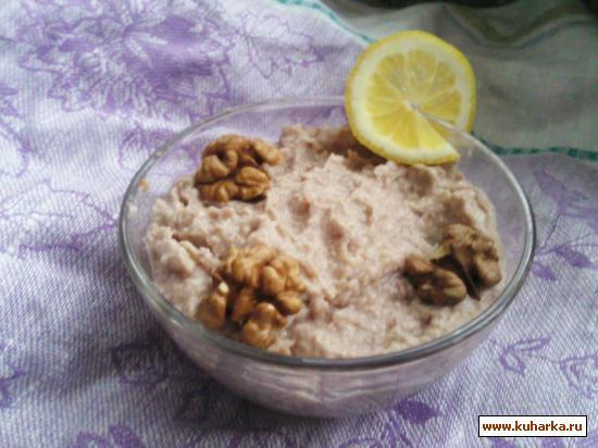 Рецепт Икра из хлеба и чеснока