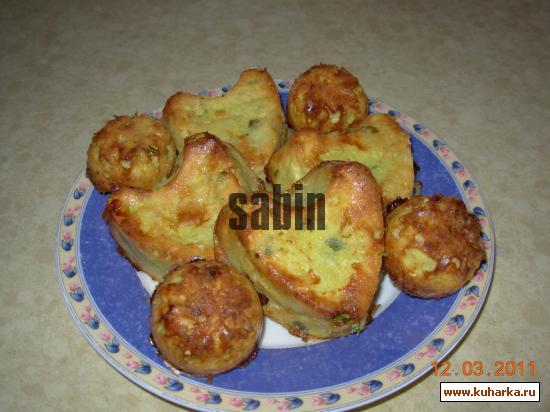Рецепт Печеные кабачковые оладушки