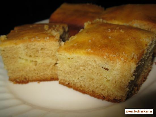 Рецепт Cream Cheese Swirl Blondies ( Кружевные блондинки из крим чиза)