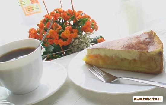 Рецепт Яблочный пирог со сметаной